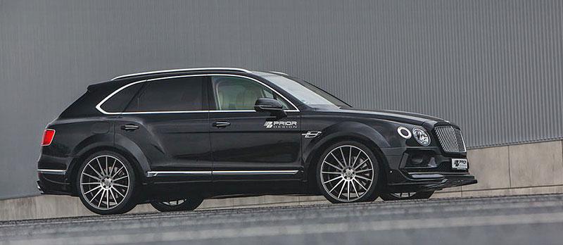 Prior Design nepřehlédnutelně rozšiřuje Bentley Bentayga: - fotka 5