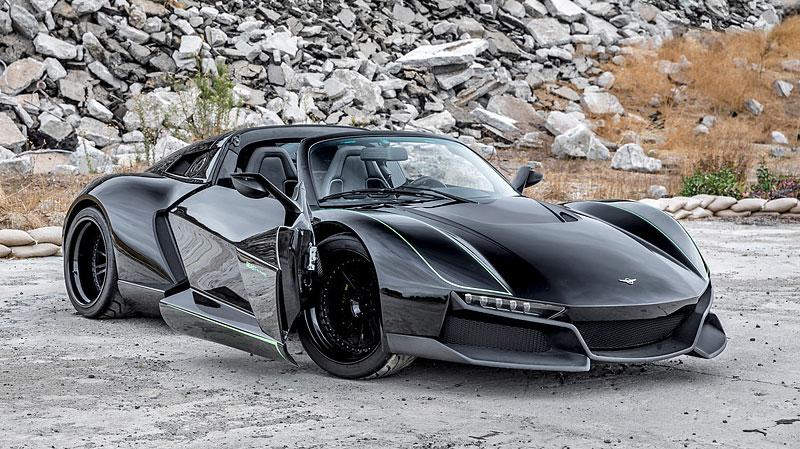 Rezvani Beast Alpha X Blackbird je inspirován nejrychlejším letadlem světa: - fotka 6