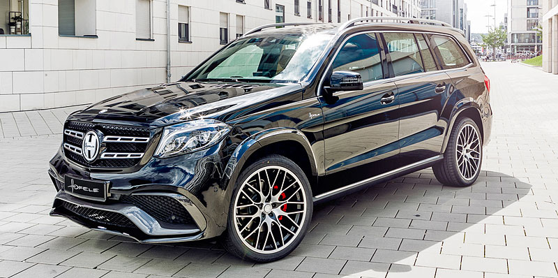 Mercedes-Benz GLS může být díky Hofele-Design ještě luxusnější: - fotka 12