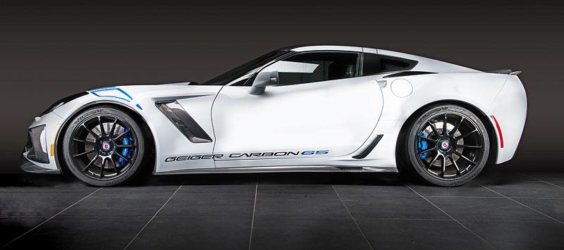 Chevrolet Corvette Z06 Carbon 65 Edition je stylová oslava výročí od GeigerCars: - fotka 6