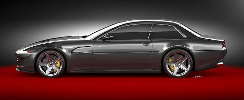 Ares Design chce oživit velké cestovní Ferrari 412 s technikou GTC4 Lusso: - fotka 4