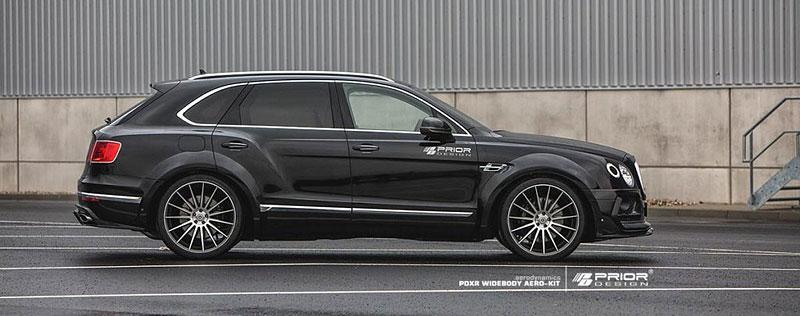 Prior Design nepřehlédnutelně rozšiřuje Bentley Bentayga: - fotka 7
