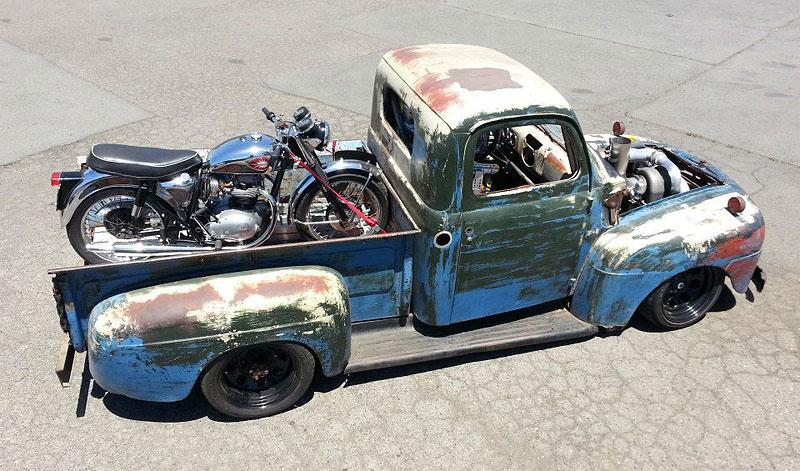 Otřískanej pick-up Ford by vám natrhnul…: - fotka 7
