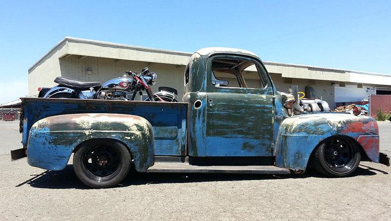 Otřískanej pick-up Ford by vám natrhnul…: - fotka 8