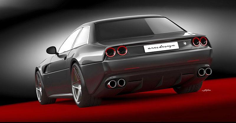 Ares Design chce oživit velké cestovní Ferrari 412 s technikou GTC4 Lusso: - fotka 5