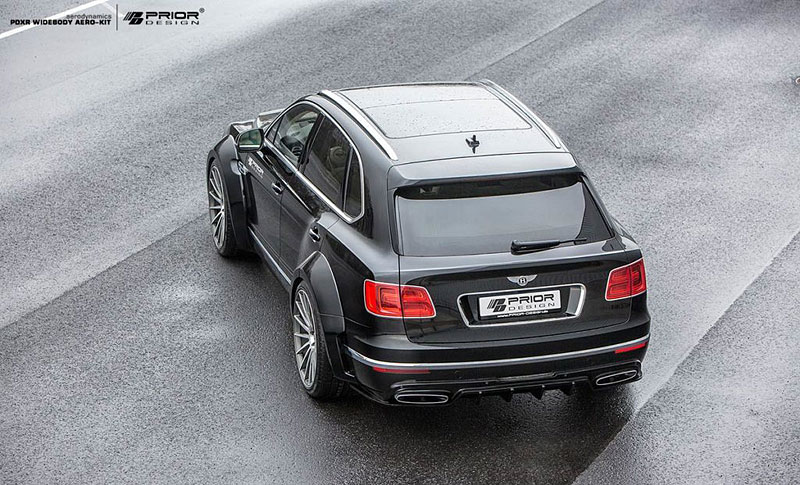Prior Design nepřehlédnutelně rozšiřuje Bentley Bentayga: - fotka 8