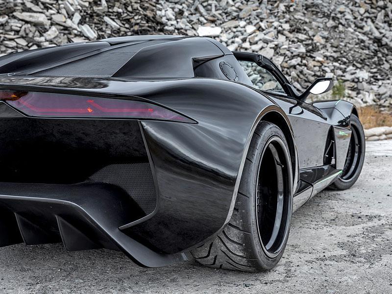 Rezvani Beast Alpha X Blackbird je inspirován nejrychlejším letadlem světa: - fotka 12