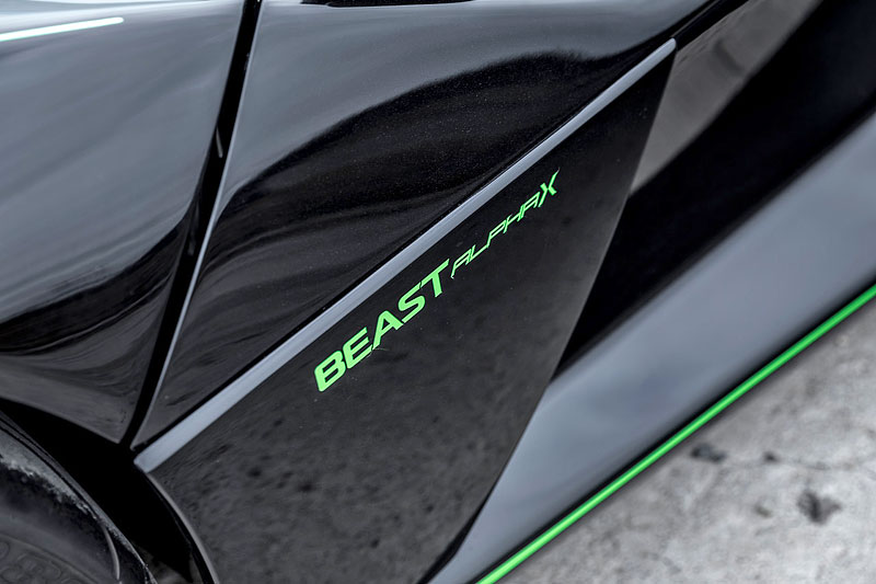 Rezvani Beast Alpha X Blackbird je inspirován nejrychlejším letadlem světa: - fotka 13