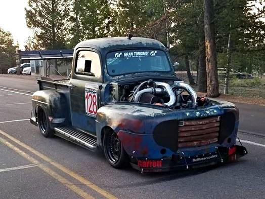 Otřískanej pick-up Ford by vám natrhnul…: - fotka 17