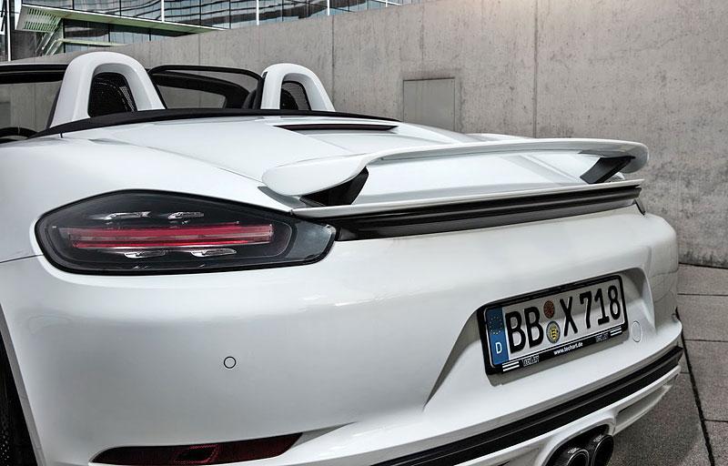 TechArt ladí čtyřválcová Porsche 718 Boxster a Cayman S na 400 koní: - fotka 12