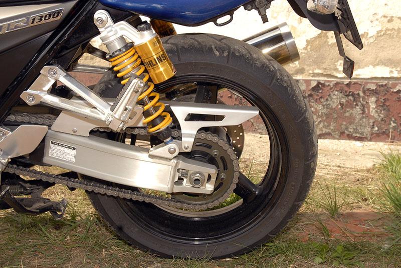 Test - Yamaha XJR1300: profesorská jízda: - fotka 30