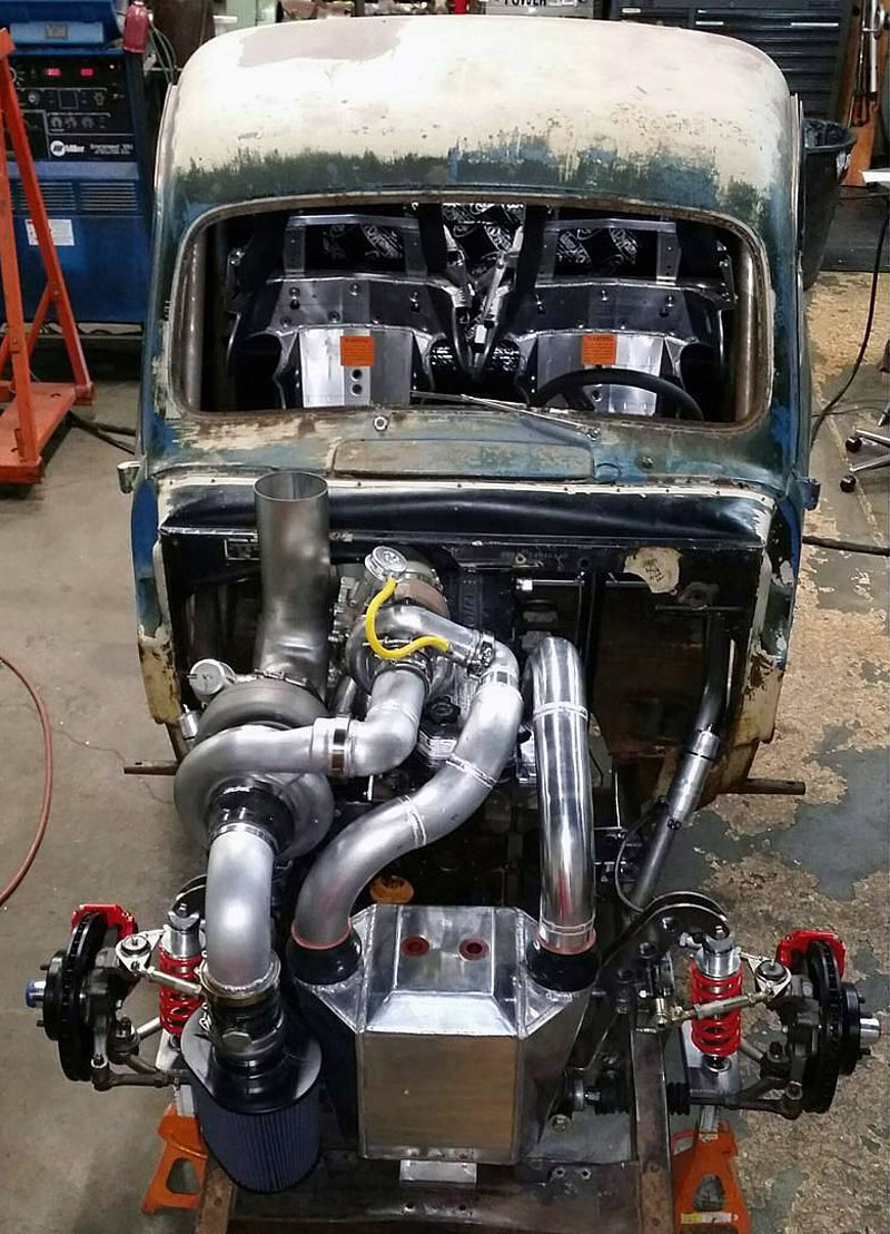 Otřískanej pick-up Ford by vám natrhnul…: - fotka 25