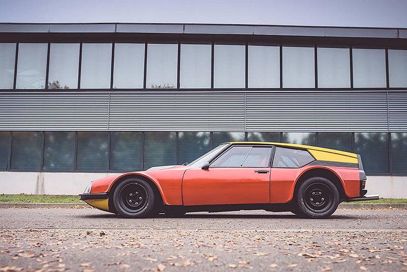 Znáte Citroën SM Proto Michelin? Placaté kupé vzniklo, aby našlo limit výkonu pro předokolky: - fotka 4