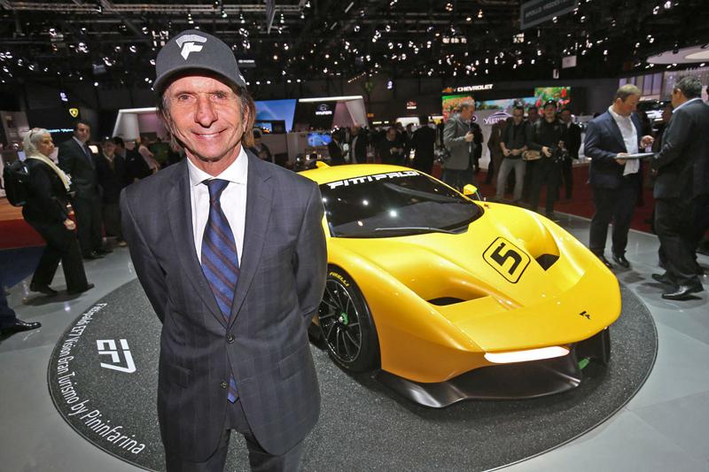 Fittipaldi EF7 Vision Gran Turismo by Pininfarina nabízí skutečné i virtuální svezení: - fotka 7