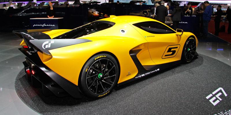 Fittipaldi EF7 Vision Gran Turismo by Pininfarina nabízí skutečné i virtuální svezení: - fotka 10