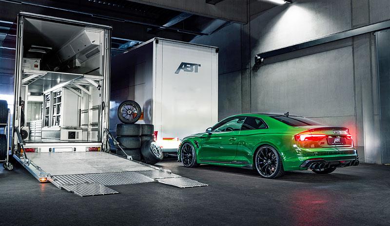 ABT RS5-R ohromuje svým vzhledem i technikou: - fotka 14