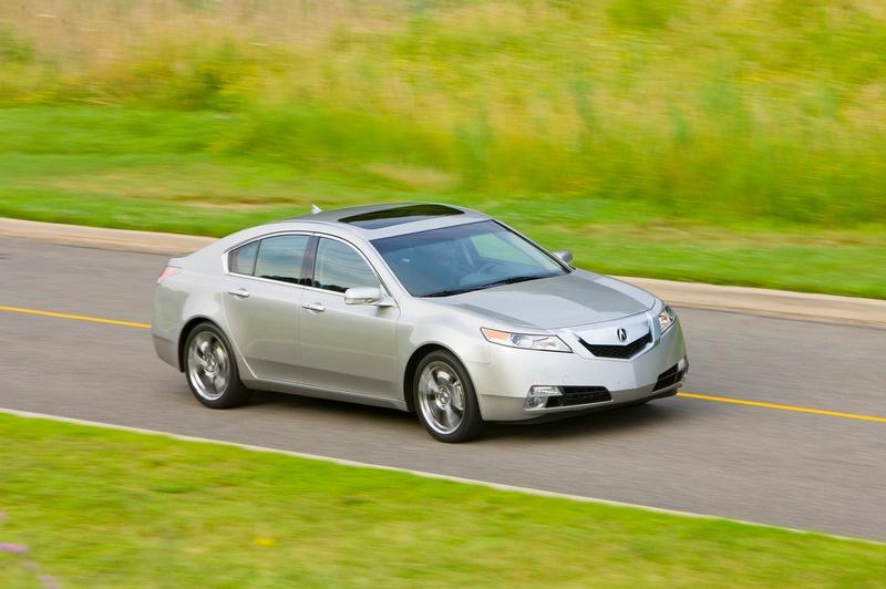 Acura TL - sportovní sedan jako břitva: - fotka 14