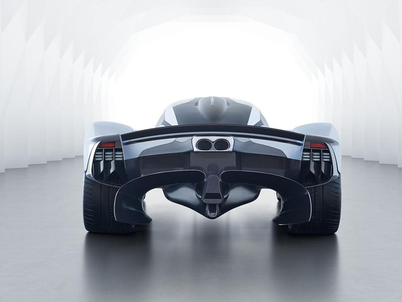 Aston Martin Valkyrie AMR Pro nabídne extrémní svezení na závodních okruzích: - fotka 20