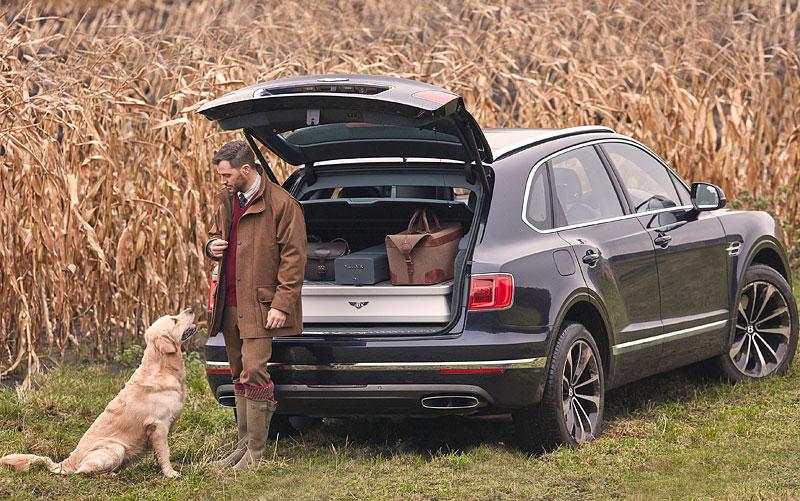 Bentley Bentayga Field Sports By Mulliner cílí na lovce a sportovní střelce: - fotka 4