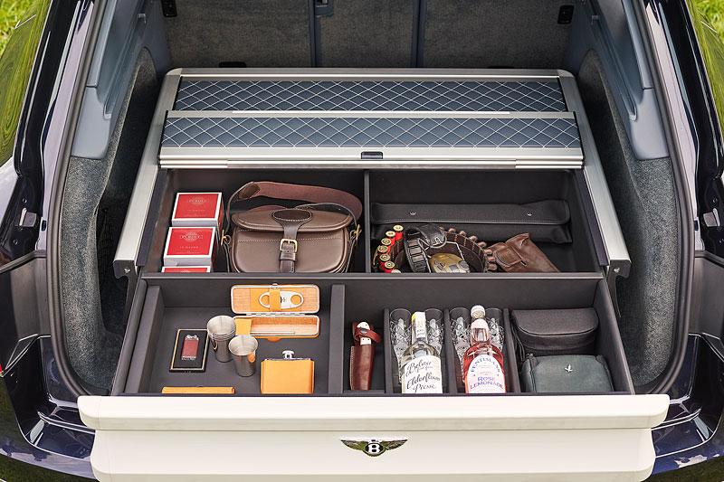 Bentley Bentayga Field Sports By Mulliner cílí na lovce a sportovní střelce: - fotka 9