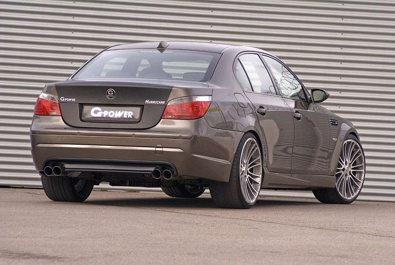 BMW M5 G-Power Hurricane: Závan přírodních živlů: - fotka 8