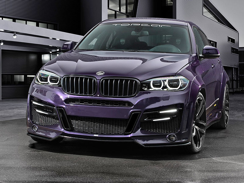 Ruský TopCar upravil BMW X6 v německém stylu: - fotka 2