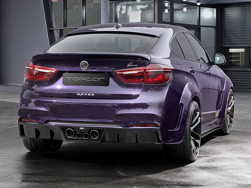 Ruský TopCar upravil BMW X6 v německém stylu: - fotka 6