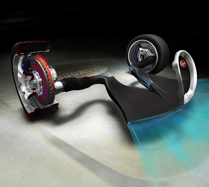 Pod lupou: Bugatti EB 16.4 Veyron - čtyři turba, 1000 koní: - fotka 56