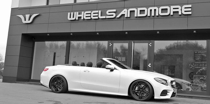 WheelsAndMore ladí nejvýkonnější sedany, kupé i kabriolety Mercedes-Benz třídy E: - fotka 3