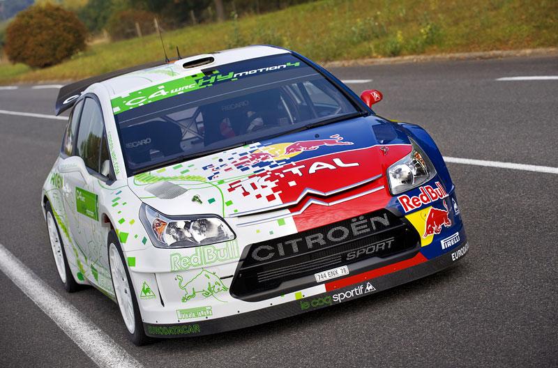 Paříž 2008: Citroën C4 WRC HYmotion4 – hybridní závoďák: - fotka 5