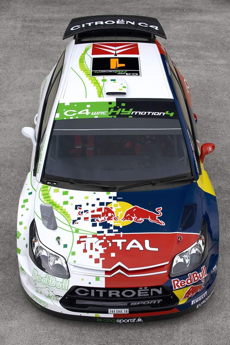 Paříž 2008: Citroën C4 WRC HYmotion4 – hybridní závoďák: - fotka 6