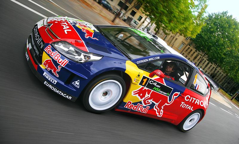 Paříž 2008: Citroën C4 WRC HYmotion4 – hybridní závoďák: - fotka 16