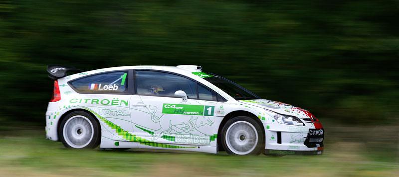 Paříž 2008: Citroën C4 WRC HYmotion4 – hybridní závoďák: - fotka 18