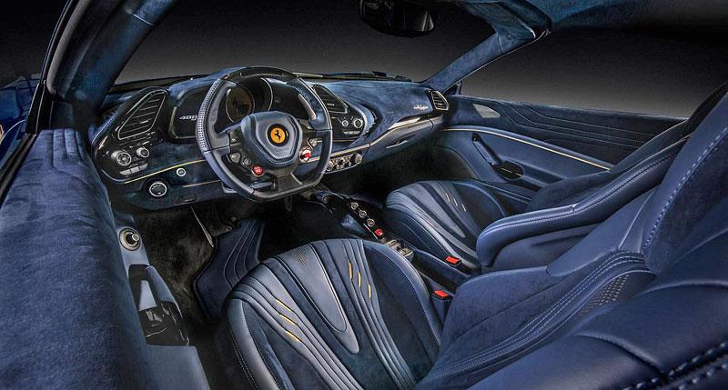 Ferrari 488 Spider by Carlex Design je rapsodie v modrém: - fotka 2