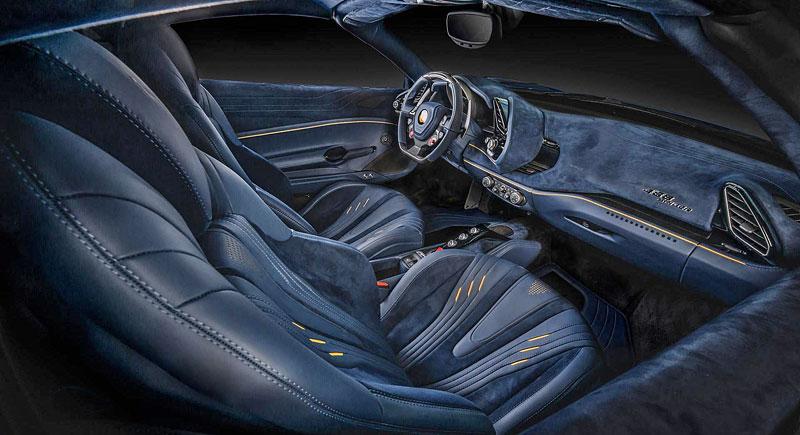 Ferrari 488 Spider by Carlex Design je rapsodie v modrém: - fotka 4