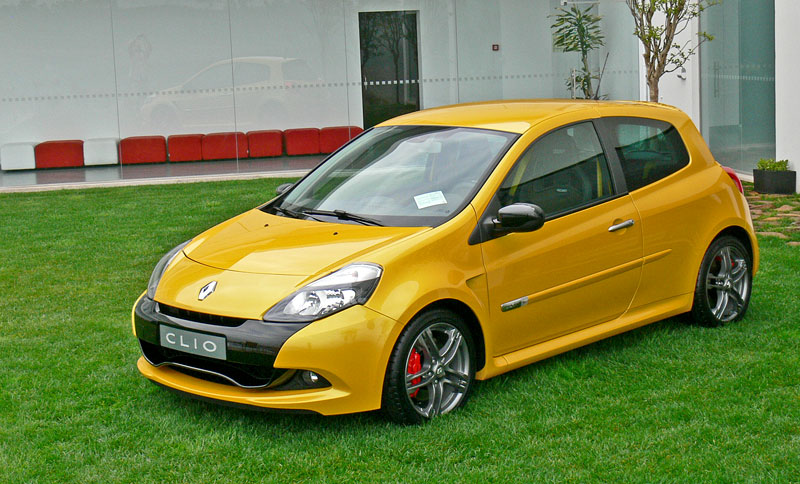 Za volantem: Clio Renault Sport: - fotka 42