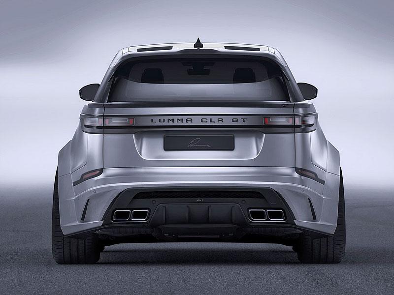 Lumma CLR GT je pěkně rozšířený Range Rover Velar: - fotka 5