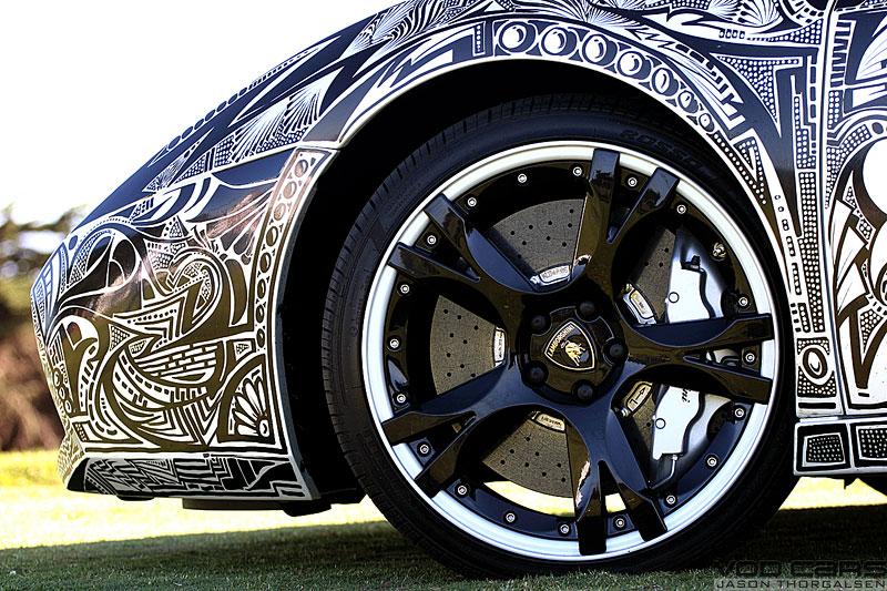 Lamborghini Gallardo s kérkou: - fotka 17
