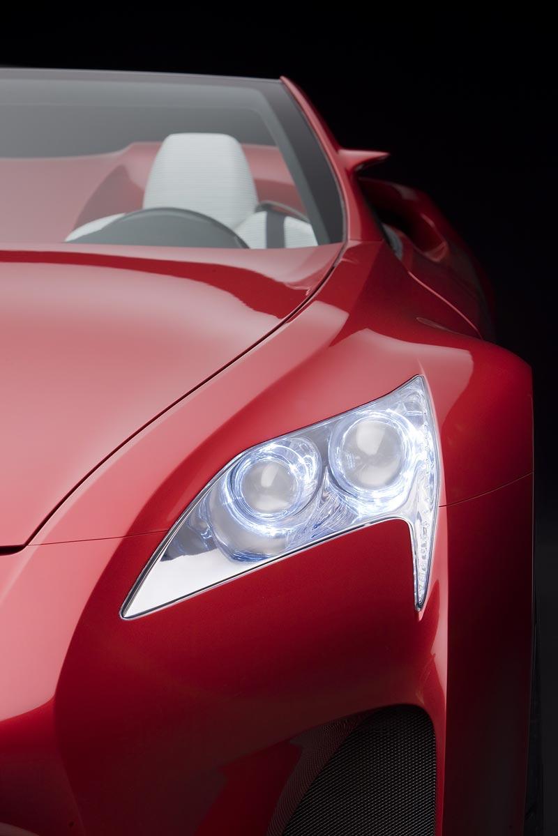 Detroit 2008: Lexus LF-A Roadster: - fotka 16