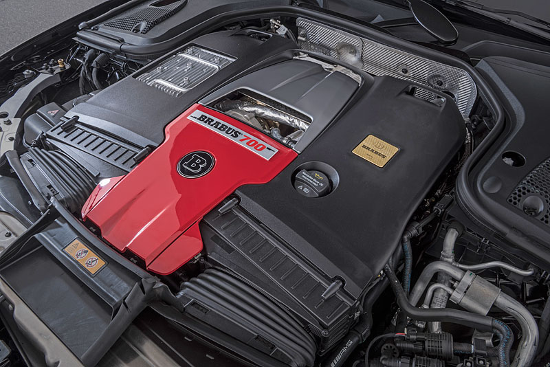 Brabus 700 je o trochu divočejší Mercedes-AMG E 63: - fotka 13