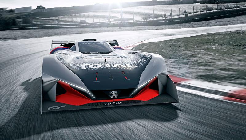 Peugeot L750 R Hybrid Vision GT: Další lev pro virtuální závodní tratě: - fotka 2