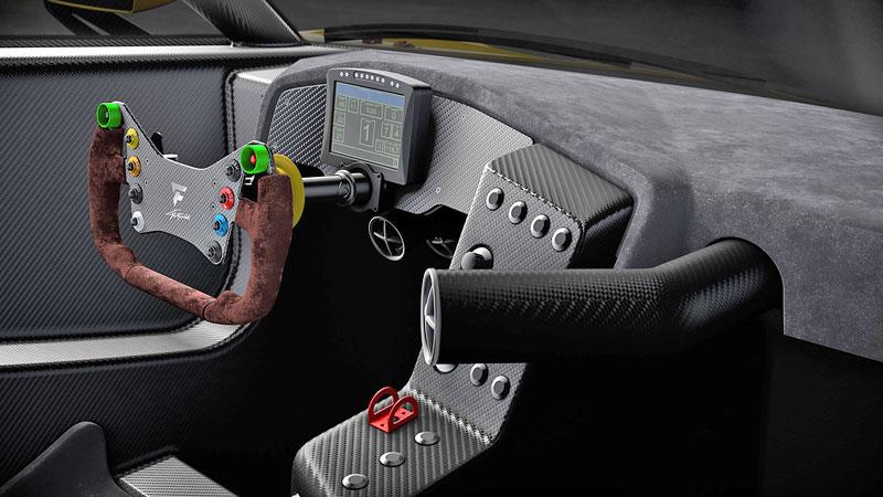 Fittipaldi EF7 Vision Gran Turismo by Pininfarina nabízí skutečné i virtuální svezení: - fotka 20
