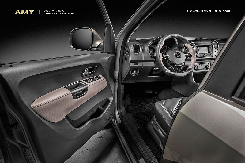 Carlex udělal z Volkswagenu Amarok drsnější off-road: - fotka 3