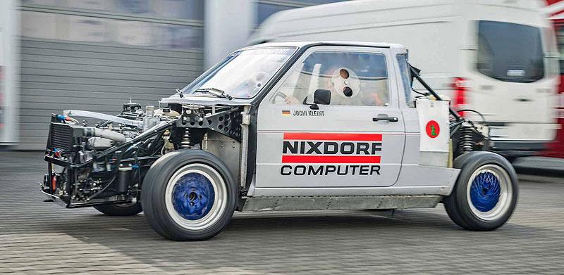 VW Golf Twin-Engine Pikes Peak: Když je jeden motor málo: - fotka 3