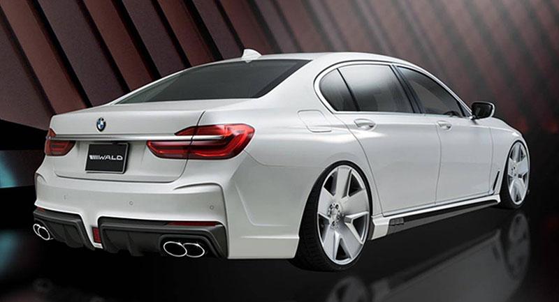 BMW 7 Black Bison od Wald: Sedma z Japonska vypadá jako Toyota Prius: - fotka 2