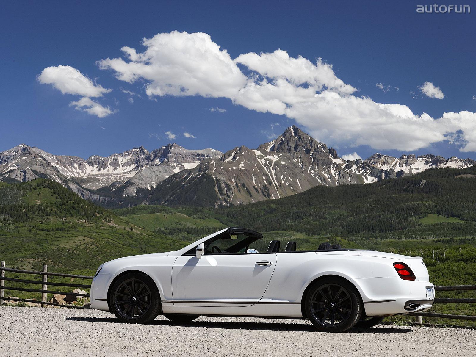 Bentley Continental Supesports Cabrio