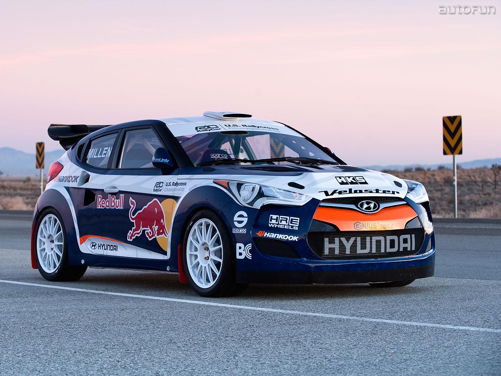 Hyundai Veloster Rally