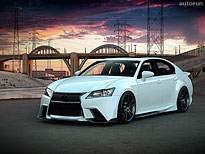 Lexus GS Five Axis