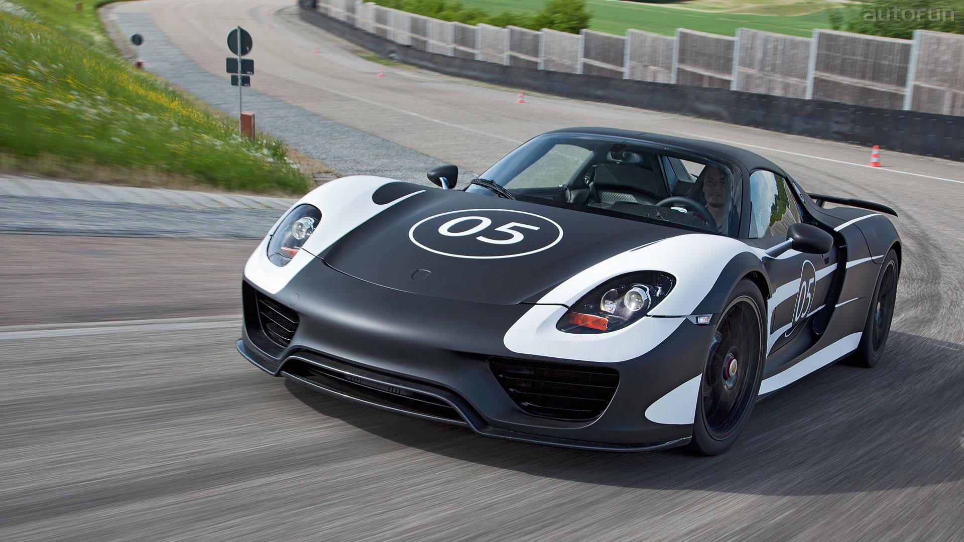 Tapeta Na Plochu Porsche 918 Spyder 1920x1080 Autofun Cz