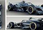 Koncept vozu F1 pro rok 2021 v nejen současných zbarveních
